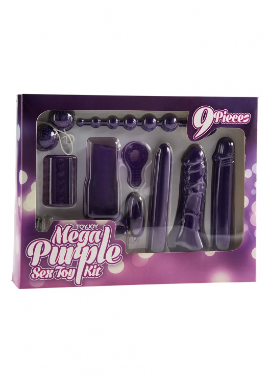 Набор Toy Joy Mega Purple 10120TJ