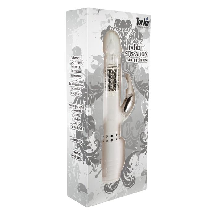 Вибратор RABBIT SENSATION VIBRATOR WHITE 9694TJ