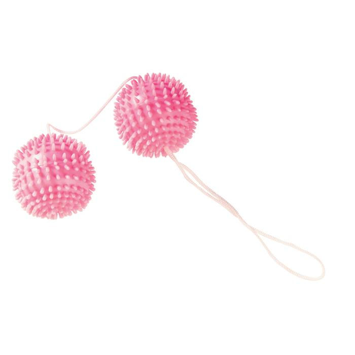 Вагинальные шарики GIRLY GIGGLE LOVE BALLS SOFT PINK9113TJ