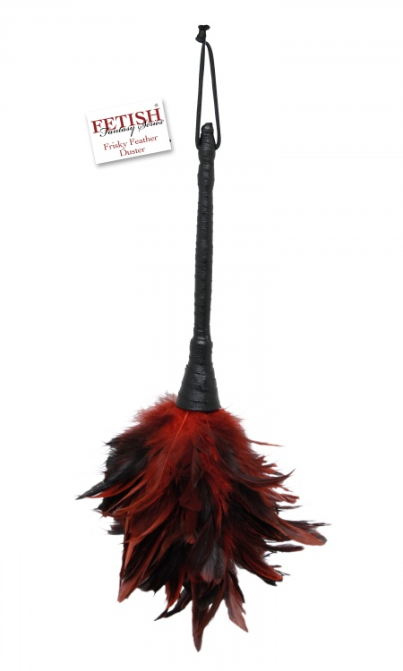 Кисточка FF FRISKY FEATHER DUSTER BLACK RED 375615PD