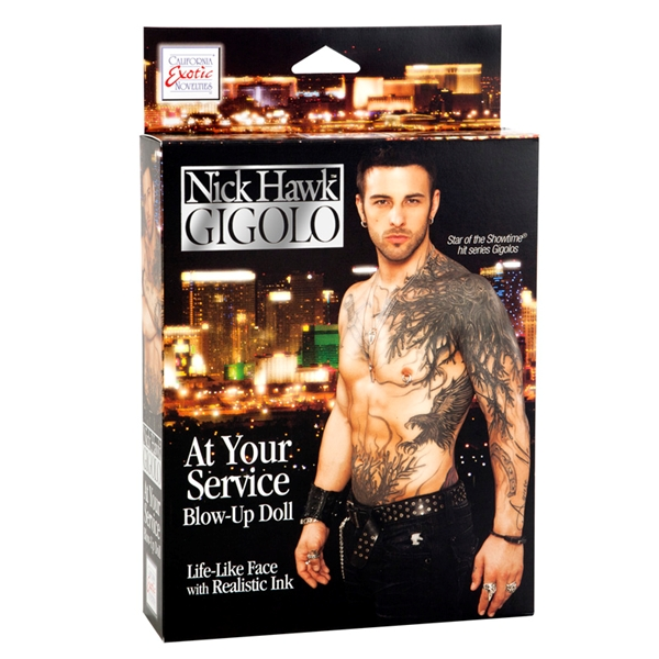 Кукла Nick Hawk GIGOLO At Your Service 2959-00BXSE