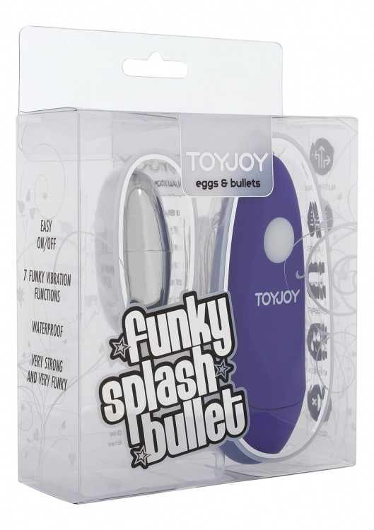 """Вибропуля Funky Splash Purple 10084TJ"""