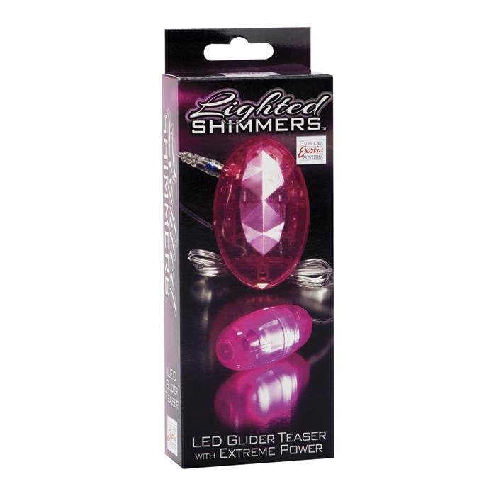 Виброяйцо Lighted Shimmers LED Glider 0846-10BXSE
