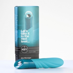 Вибратор KEY VELA MASSAGER BLUE 8055-05BXSE